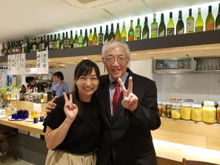 腸内細菌の第一人者の藤田紘一郎先生のセミナーに参加